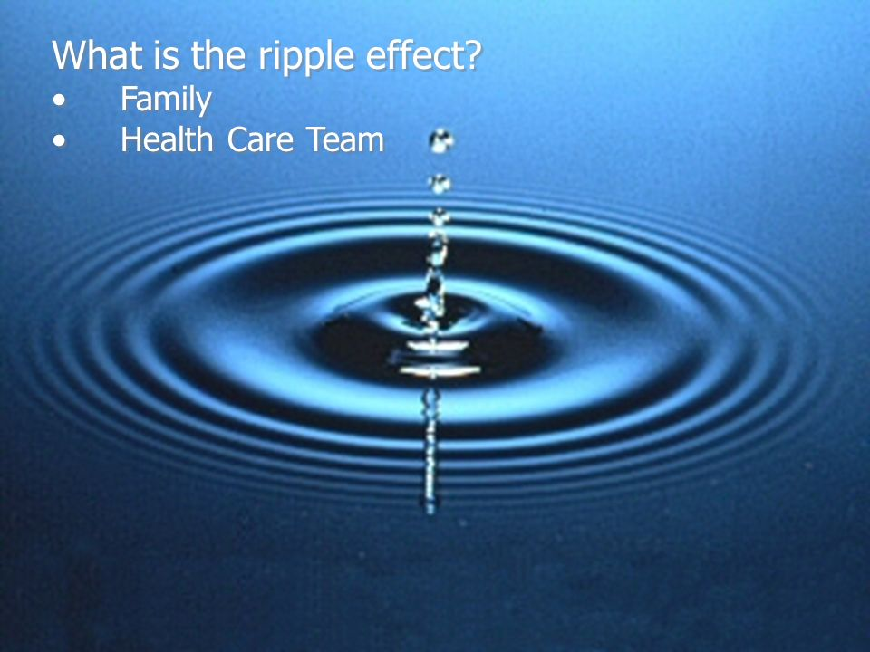 What is the ripple effect