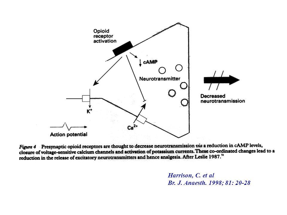 Harrison, C. et al Br. J. Anaesth. 1998; 81: 20-28