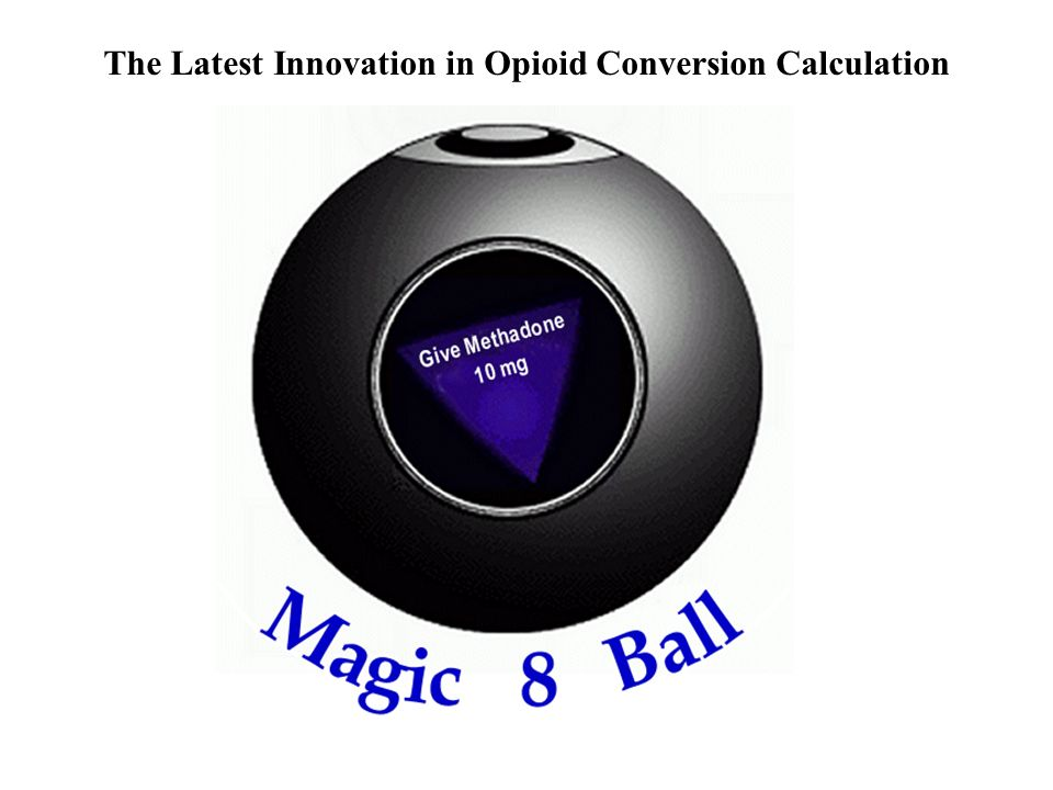 The Latest Innovation in Opioid Conversion Calculation