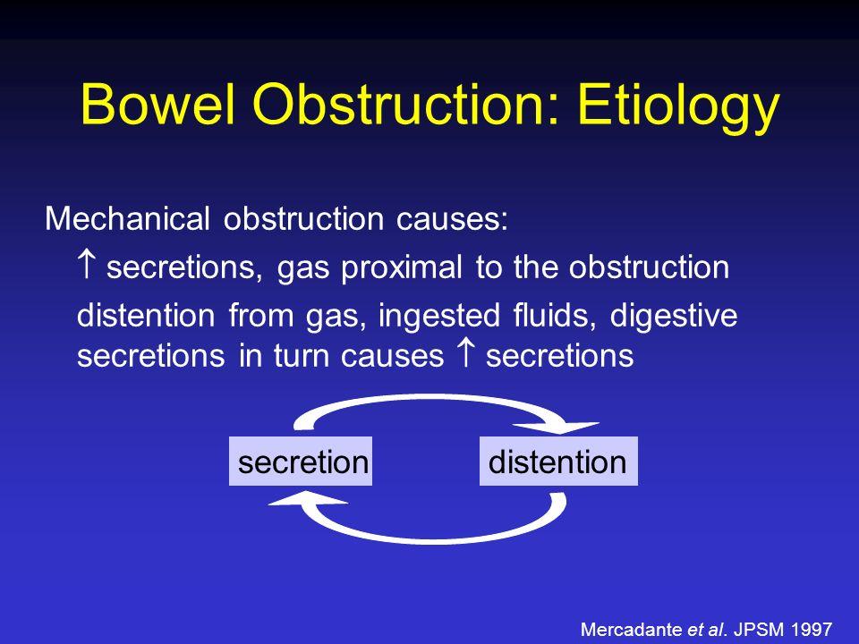 Bowel Obstruction: Etiology