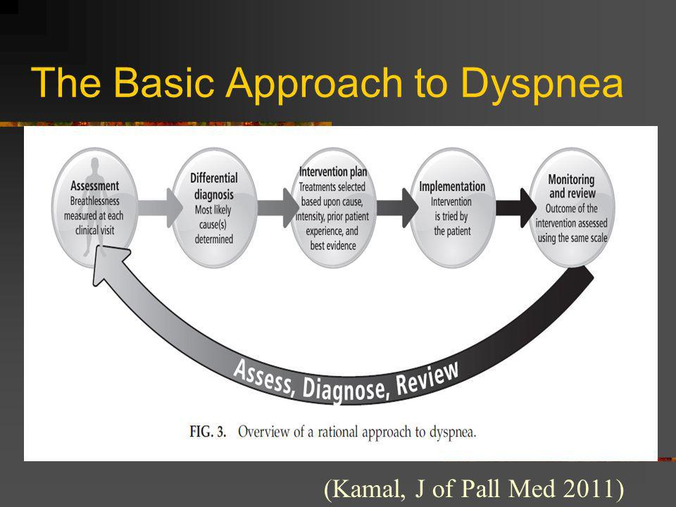 The Basic Approach to Dyspnea