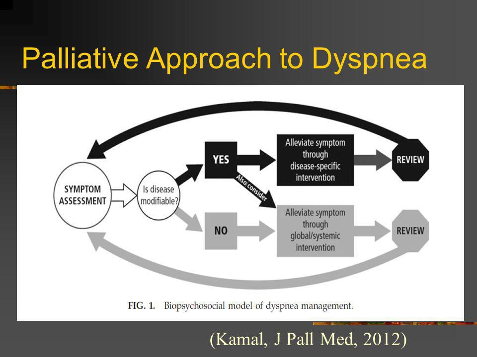 Palliative Approach to Dyspnea