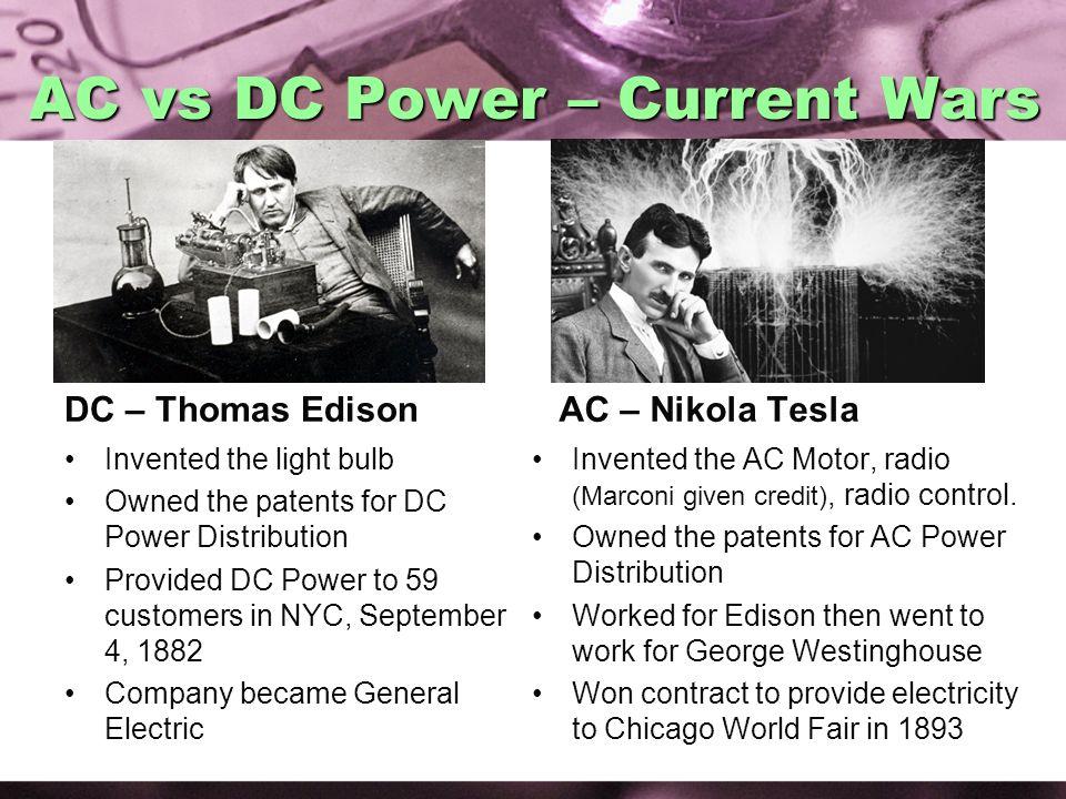 AC vs DC Power – Current Wars