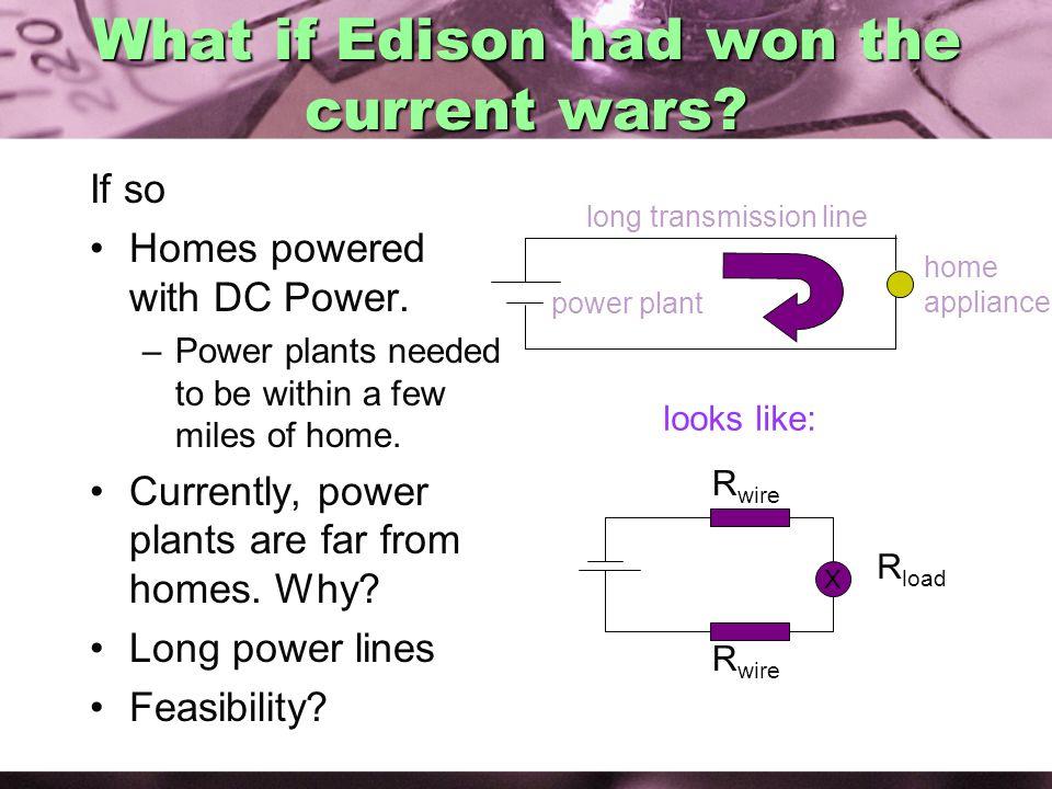 What if Edison had won the current wars