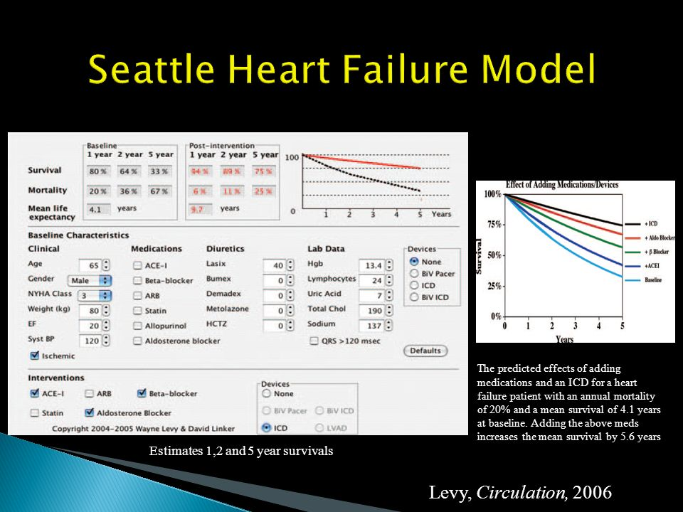 Seattle Heart Failure Model