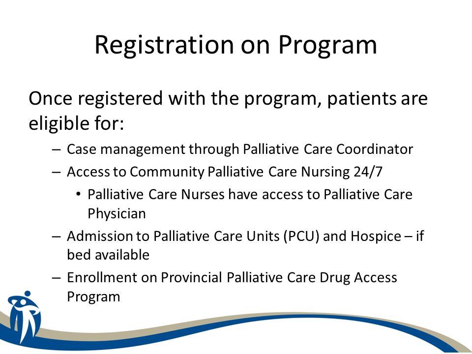 Registration on Program