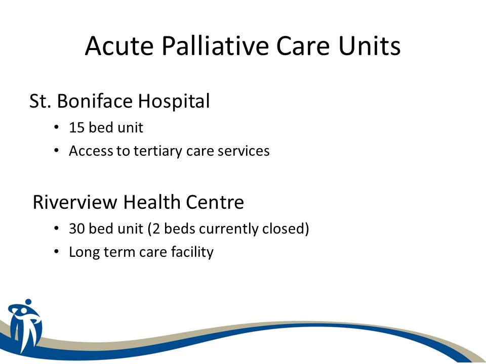 Acute Palliative Care Units