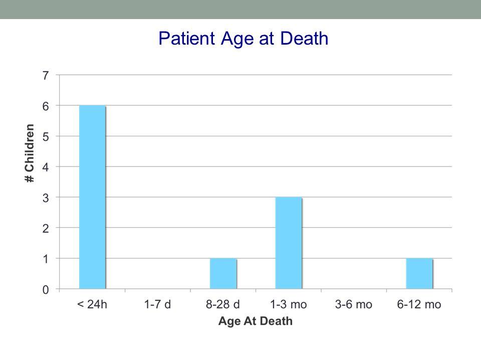 Patient Age at Death 35