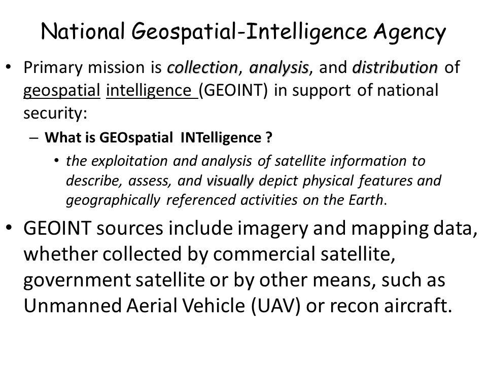 National Geospatial Intelligence Agency
