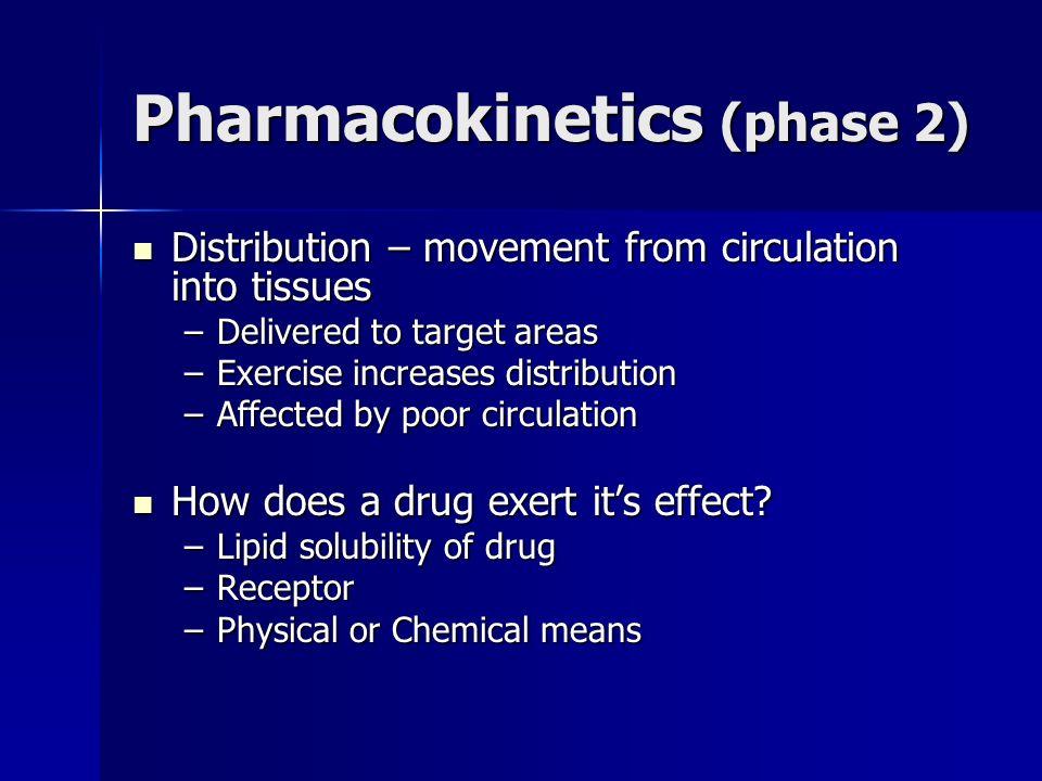 Pharmacokinetics (phase 2)