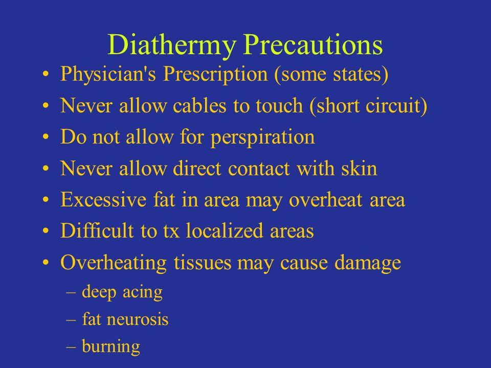 Diathermy Precautions