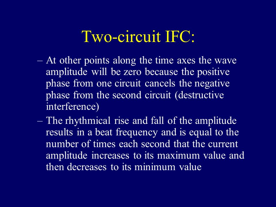 Two-circuit IFC: