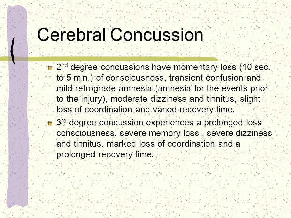 Cerebral Concussion
