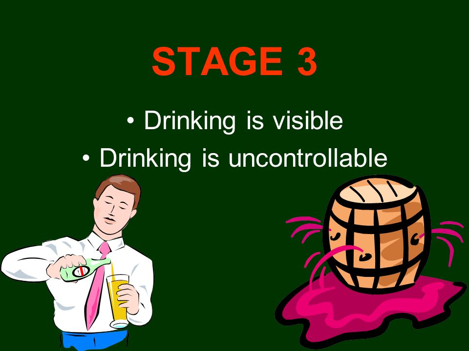 Drinking is uncontrollable
