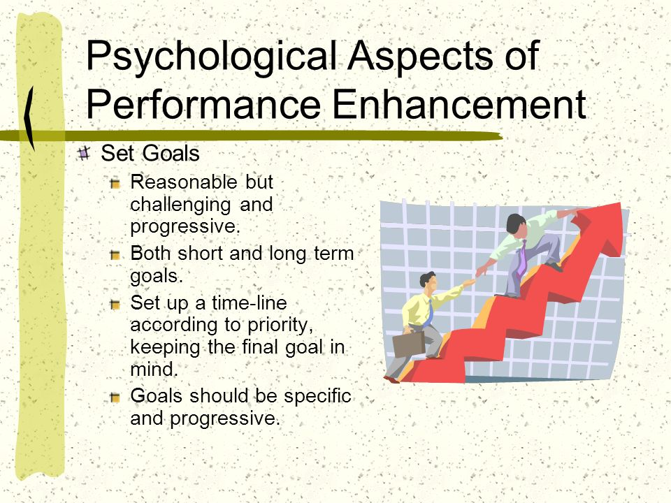 Psychological Aspects of Performance Enhancement