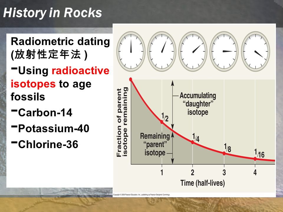 history radiometric dating The age of the earth is 454 ± 005  which saw the history of earth as  being one of the few people on earth who was trained in radiometric dating.