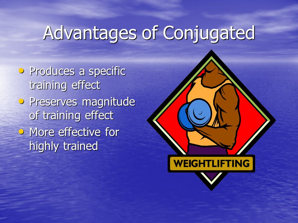 Advantages of Conjugated
