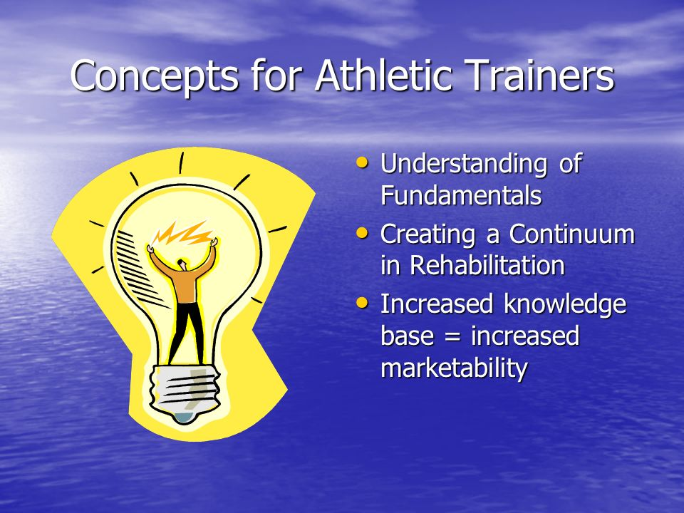 Concepts for Athletic Trainers