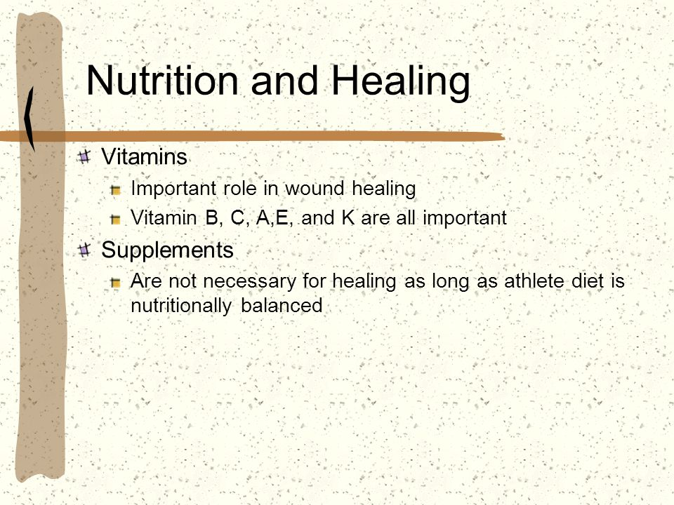 Nutrition and Healing Vitamins Supplements