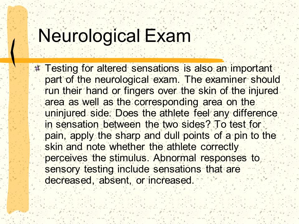 Neurological Exam