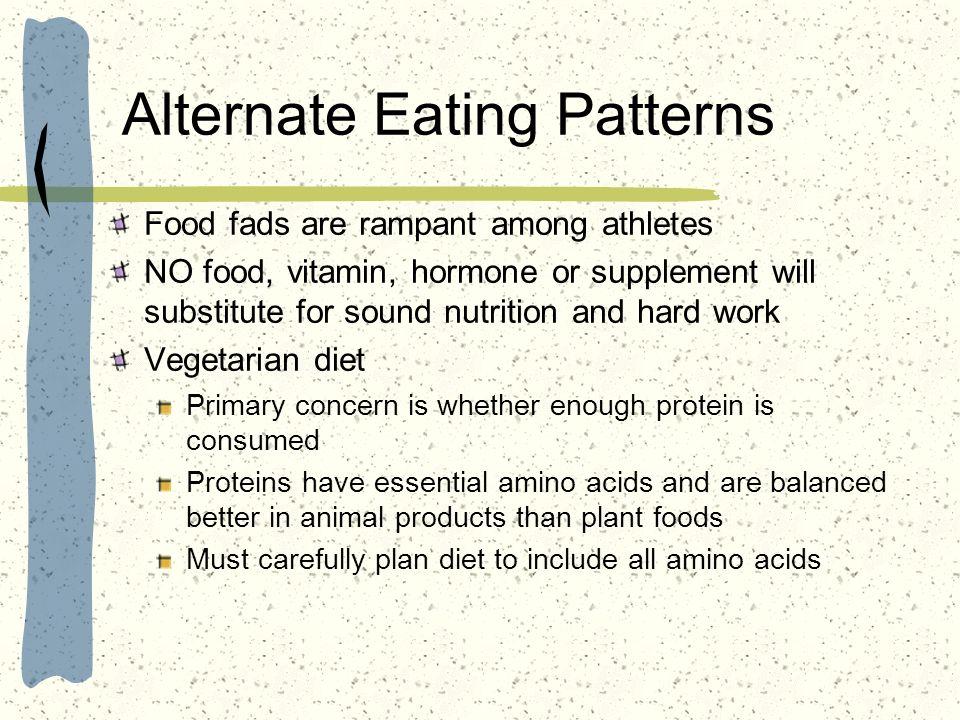 Alternate Eating Patterns