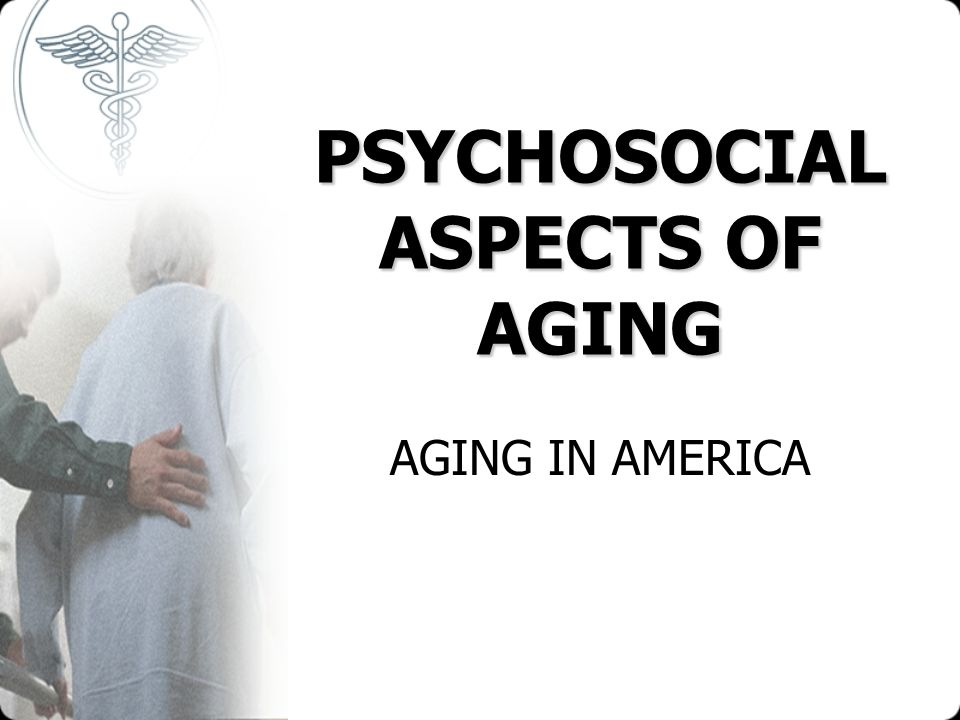 the aspects of elderly life Gerontology is the study of the social, cultural, psychological, cognitive, and biological aspects of ageing the word was coined by ilya ilyich mechnikov in 1903, from the greek , geron, old man and - , -logia, study of the field is distinguished from geriatrics, which.
