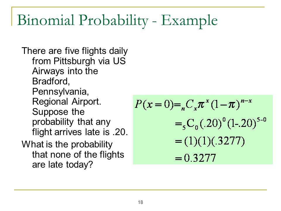 Binomial Probability - Example