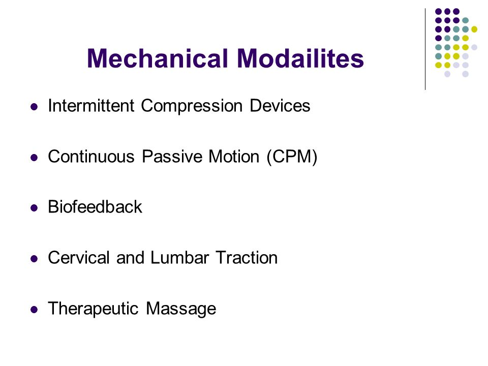 Mechanical Modailites