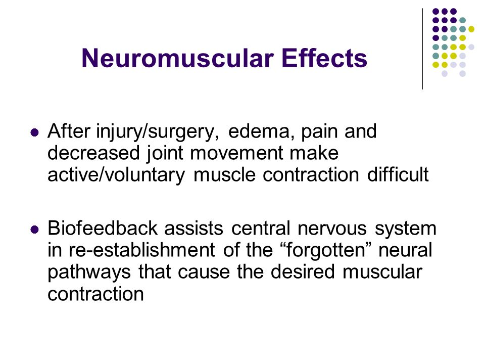 Neuromuscular Effects