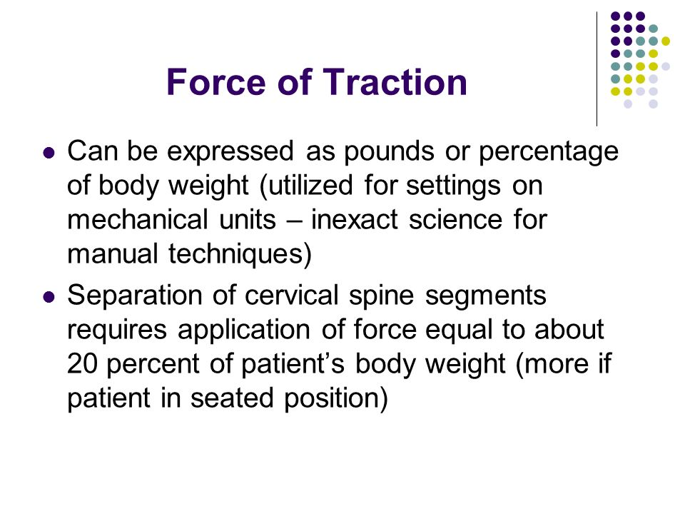 Force of Traction