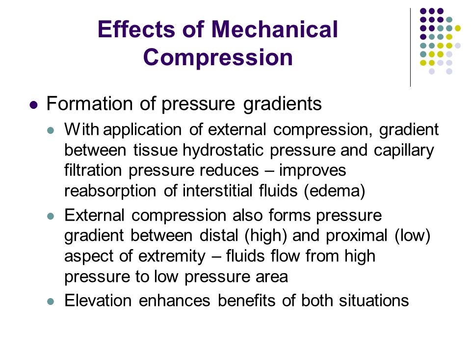 Effects of Mechanical Compression