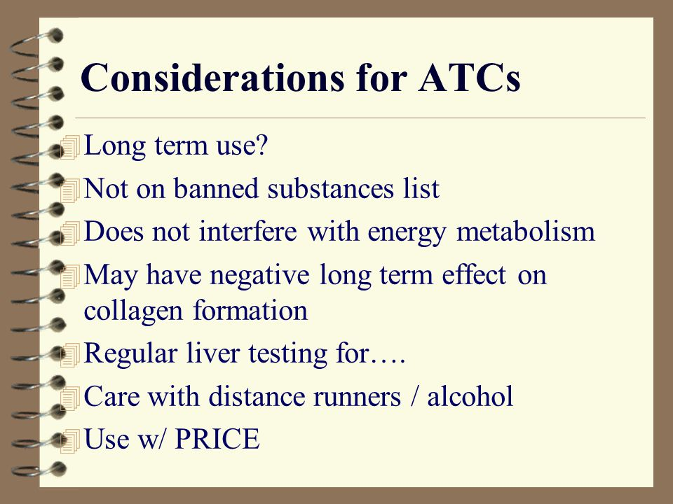 Considerations for ATCs