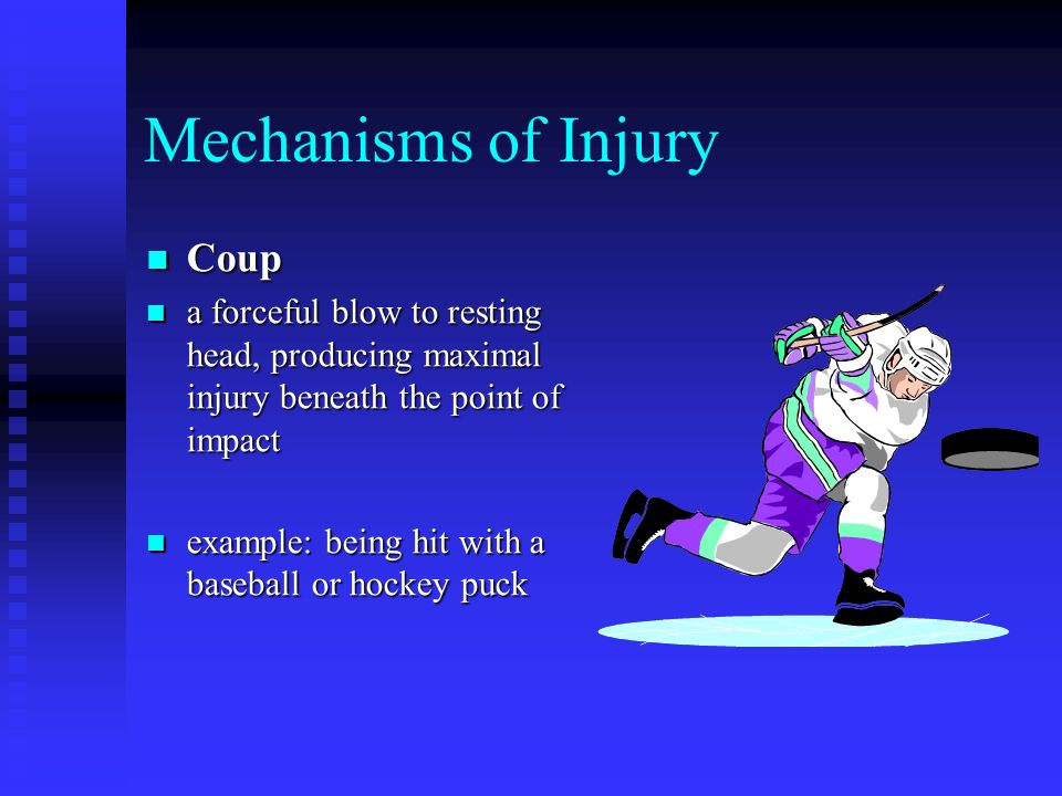 Mechanisms of Injury Coup
