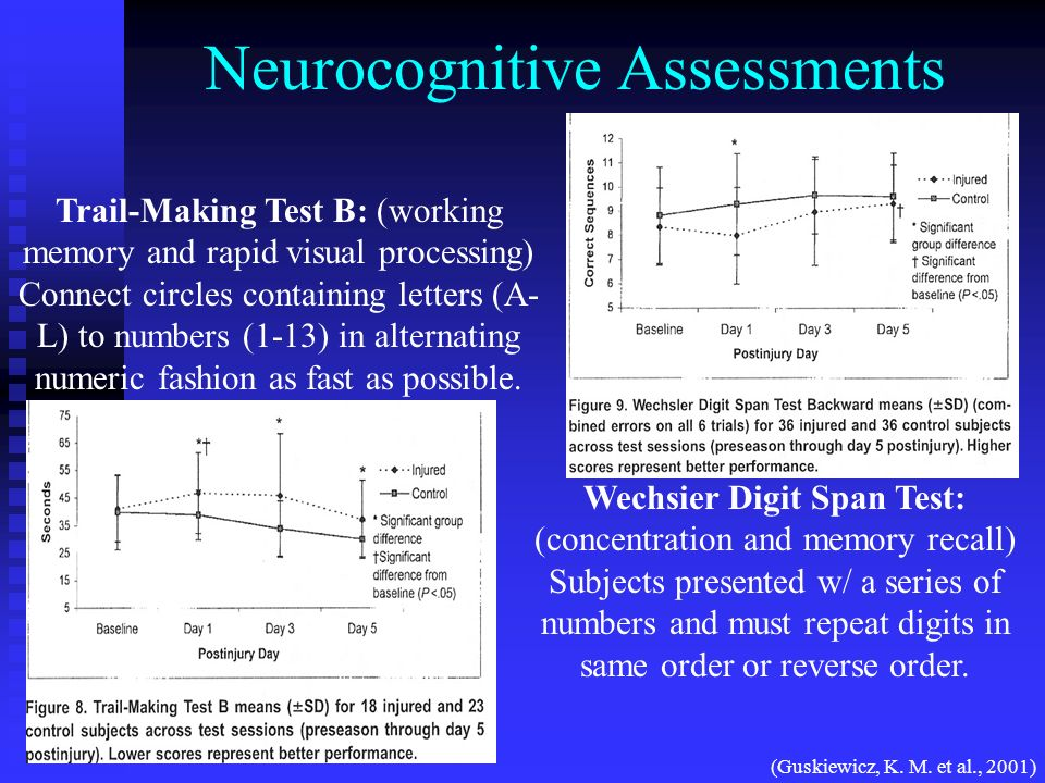 Neurocognitive Assessments