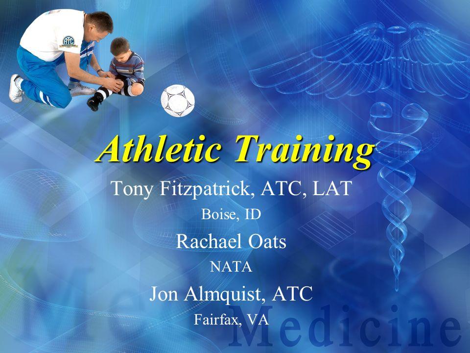 Tony Fitzpatrick, ATC, LAT
