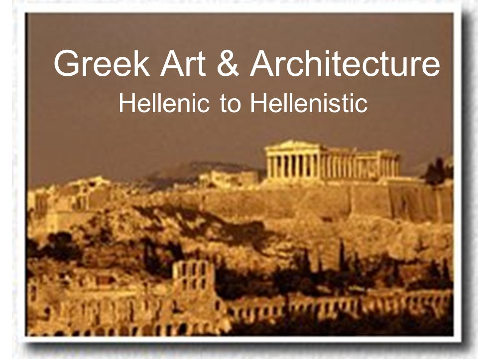 differences archaic hellenic hellenistic ppt video