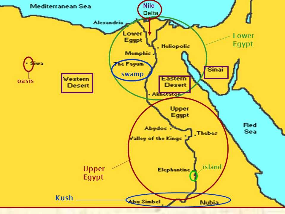 EGYPTIAN CIVILIZATION Ppt Download - Map of egypt upper and lower