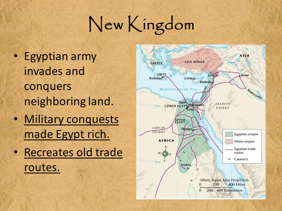 new kingdom egypt The new kingdom c1550-1070 after another brief intermediate period, pharaoh ahmose i founded the 18th dynasty and established the new kingdom (c1550-1070) ahmose immediately steered the egyptians onto a new militant and imperialistic path.