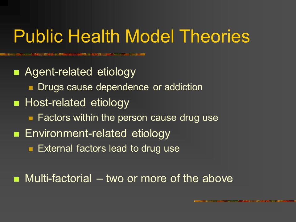Public Health Model Theories