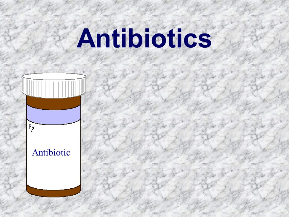 Antibiotics Antibiotic