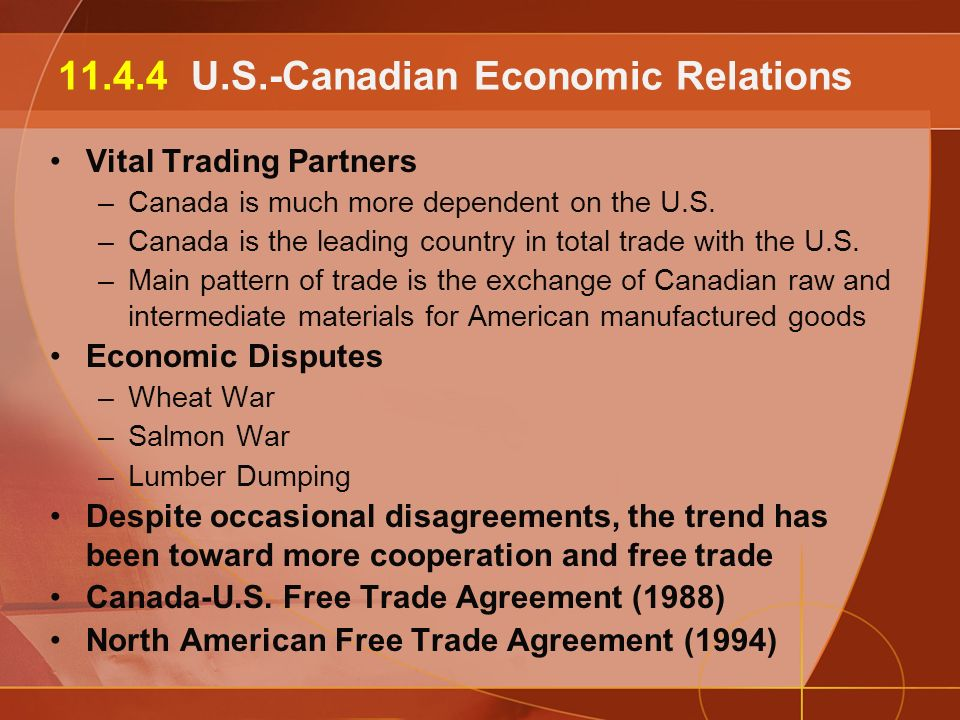 a description of canadas economy depends on united states market Find the united states economic freedom report in the index of economic freedom the report includes the us population, gdp, unemployment, inflation, government spending and more.
