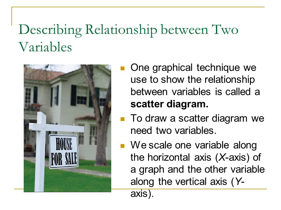 Describing Relationship between Two Variables