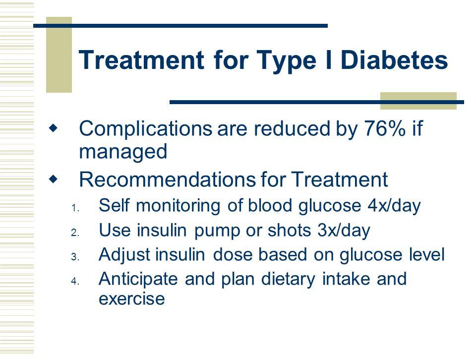 Treatment for Type I Diabetes