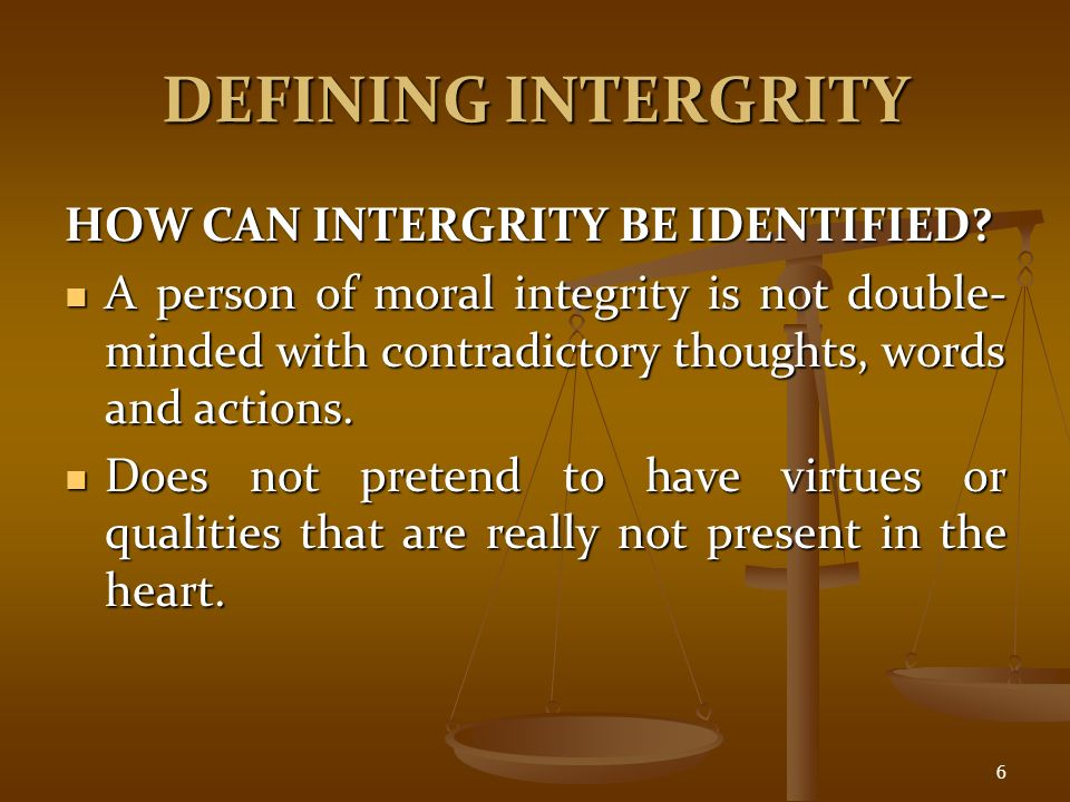 individual moral integrity crucible We might argue that john proctor is both doomed and saved by his own sense of morality in the crucible the question of how an individual's moral integrity is related to the moral integrity of a .