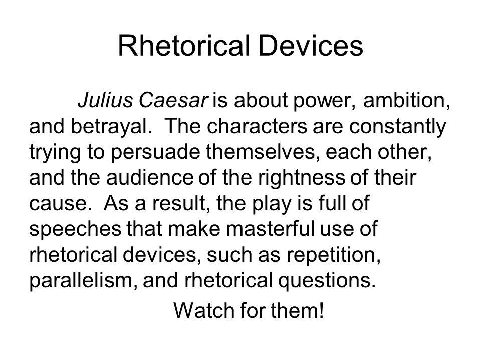 rhetorical analysis of julius caesar This is a complete lesson for teaching rhetorical analysis with julius caesar #super hashtags: the #maj #rhetorical.