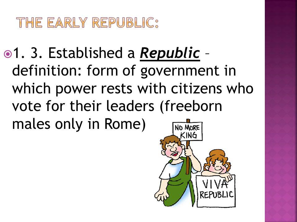 The Romans Create a Republic - ppt video online download