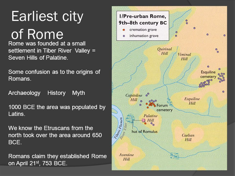 who found the city of rome - photo#29