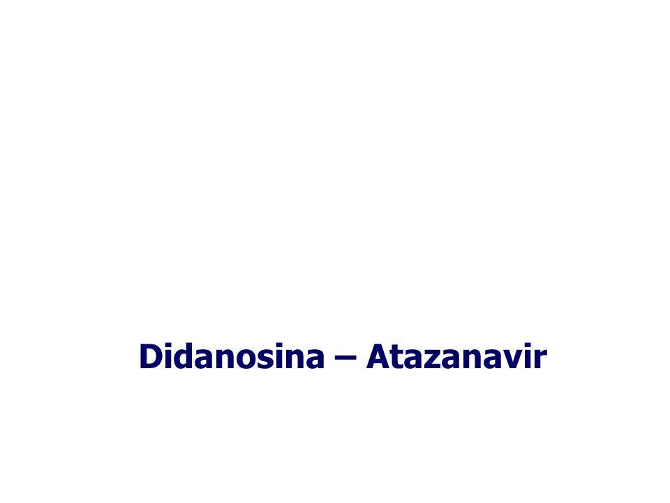 Didanosina – Atazanavir