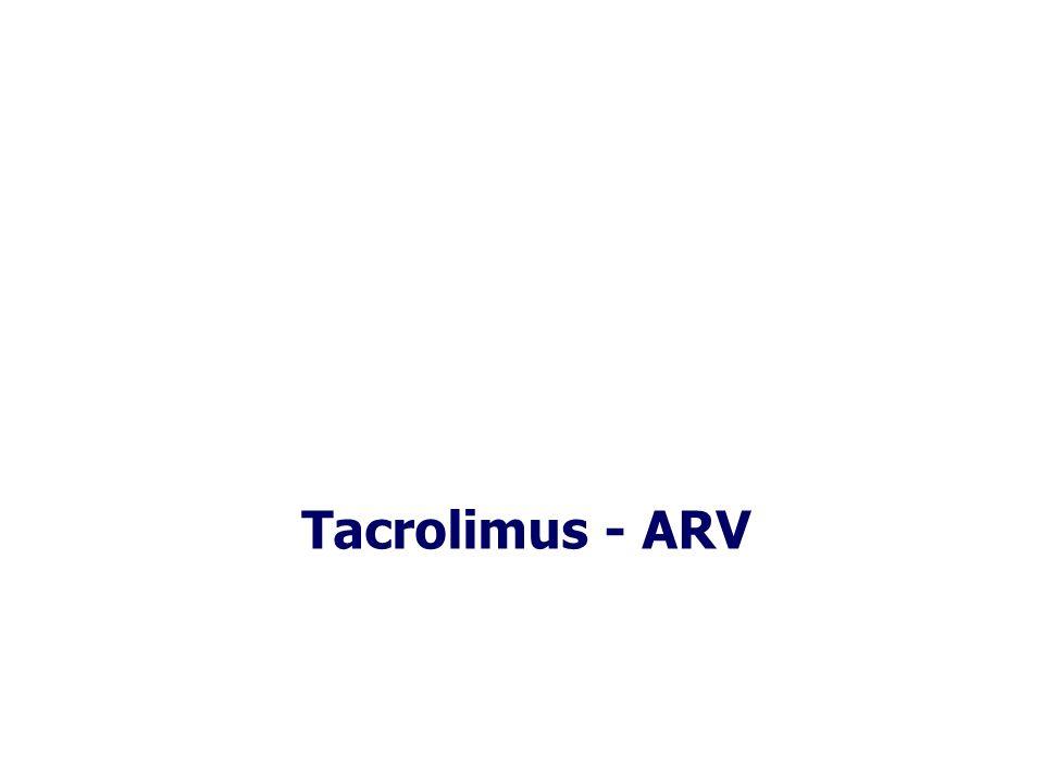 Tacrolimus - ARV