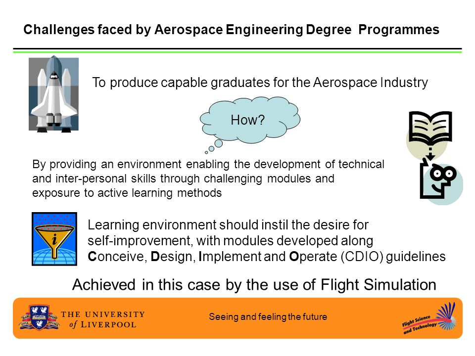 Challenges faced by Aerospace Engineering Degree Programmes